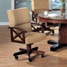 Chestnut Brown Collection Arm Chair -Set of Two - 00172