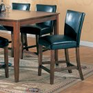 """Cherry Finish Marble Top Counter Height Collection 24"""" Barstool - Set of Two - 100358"""