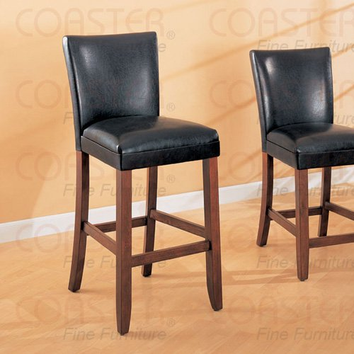 """Soho Brown Collection 24"""" Barstool - Set of Two - 100388"""