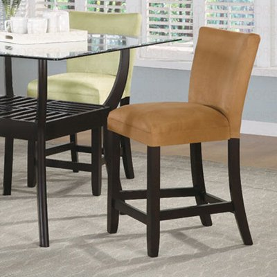 """Counter Height Collection 24"""" Barstool - Set of Two - 100589YLW"""