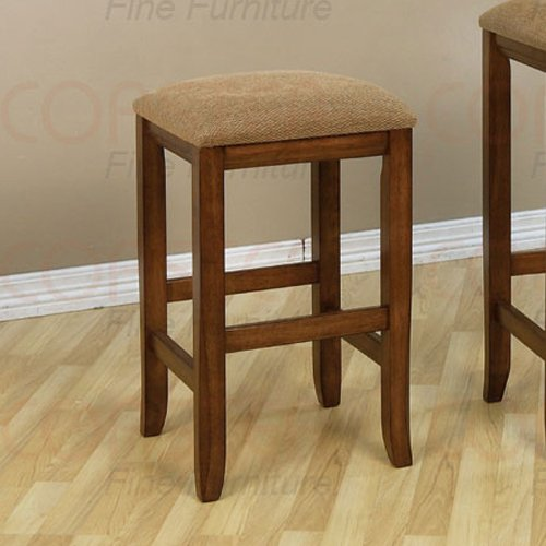 """Mission Oak Counter Height Dinette Collection 23""""H Barstool - Set of Two - 101089"""