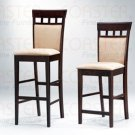 Rich Cappuccino Collection Barstool - Set of Two -100219