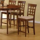 """Hollister Counter Height Collection 24""""H Wheat Back Barstool - Set of Two - 101209"""