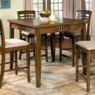 Walnut Finish Counter Height Collection Dining Counter Height Table - 101338