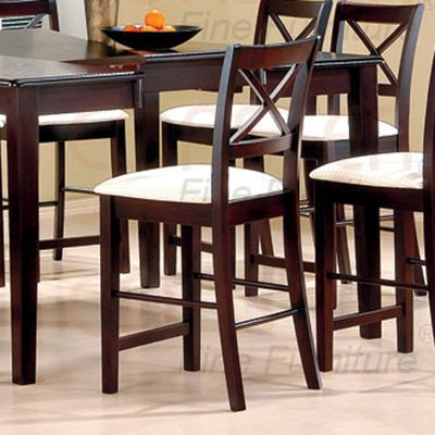 """Dining Room Counter Height Collection 24""""H Barstool - Set of Two - 5847"""