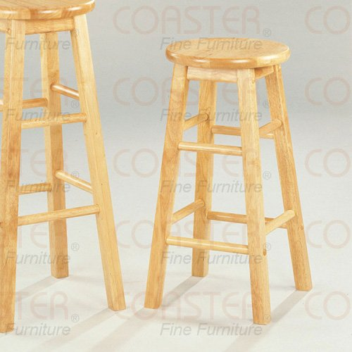 "Solid wood Collection 24""H Barstool - Set of Two - 4270"