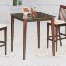 Cappuccino Finish Bar Collection Bar Table - 4555