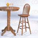 Oak Finish Collection Bar stool. - 4337