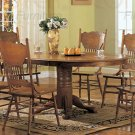 Oak Finished Collection Dining Table - 5279N