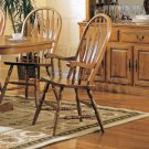 Country Light Oak Collection Side Chair - Set of Two - 5275AN