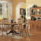 Oak Fnish Wood Collection Side Chair -Set of Two - 5476AN