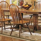 Oak Dining Room Collection Side Chair -Set of Two - 4388AN