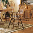 Essex Oak Dining Room Collection Arm Chair - Set of Two - 4389AN