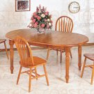 Oak finish Collection Table - 5372