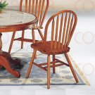 Oak finish Collection Side Chair - Set of Two - 5288