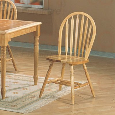 Natural Terracotta Collection Chair - Set of Two - 5000
