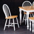 White Dinette Collection Chair - Set of Two - 4129