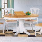 Natural & White Collection Table - 4254