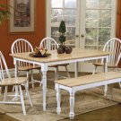 Natural White Collection Table - 4160