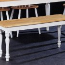 Natural  White Collection Bench - 4110