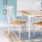 Natural  White Dinette Collection Chair - Set of Two - 4222