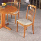 Oak Collection Chair - Set of Two - 4157