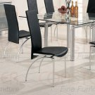 Pearl Silver Collection Chair -Set of Four -7642