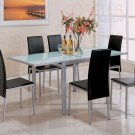 Silver Metal Collection Table - 120211