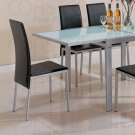 Silver Metal Collection Chair -Set of Four -120212
