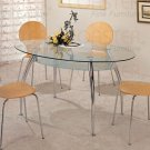 Glass Top Collection Dining Table - 120101