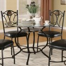 Glass Top Collection 5 Piece Set - 150501 - table