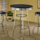 BAR TABLE CHROME PLATED 2405
