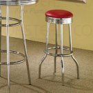 Soda Fountain Collection Red  Barstool - Set of Two - 2299R