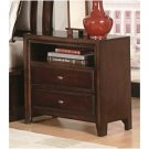 Nadine Collection 2 Drawer Night Stand - 201332