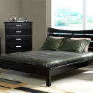 Coaster Queen Size Wood Platform Bed in Cappuccino 5631Q