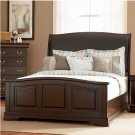 Temre Eastern King Bed In Rich Cappuccino Finish -  203980KE