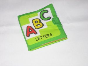 Baby Cloth Book on Letters
