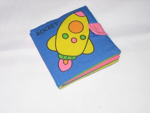 Baby Cloth Book on Transport