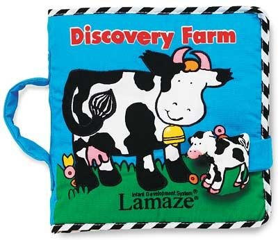 """Baby Cloth Book """"Discovery Farm"""" by Lamaze"""