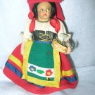 "Vintage 5 1/2"" Antique or Vintage Lenci or Lenci Style Doll"
