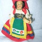 "Vintage 5 1/2"" Antique or Vintage Lenci or Lenci Style Doll"