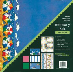 NEW Vacation Scrapbook Page Kits by Memories In The Making