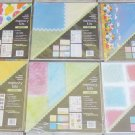 "Lot of 6 NEW  Memories In The Making 12"" x 12"" Scrapbook Page Kits"