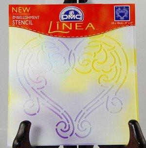 Lot of 7 NEW DMC Linea Embellishment Stencil