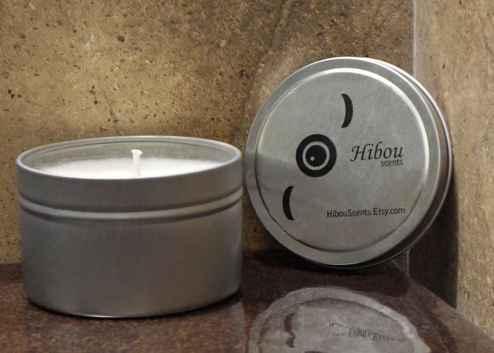 Three Hibou Candles - Eucalyptus, Lavender, Citrus Sage