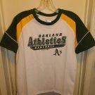 OAKLAND ATHLETICS NEW MLB BASEBALL SHIRT BOYS YOUTH L 12 - 14