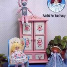 Dolls and Furniture Painted for Your Fancy Tole Painting Book