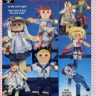 Dangle Dolls in Wood & Cloth Craft Book Suzanne McNeill