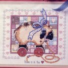 Home Is In The Heart Cross Stitch Kit for 14 x 11 Picture Vintage Country Patchwork Design