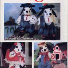 Stuffed Dalmation Dogs Dolls and Clothes Simplicity 7864 UNCUT Pattern